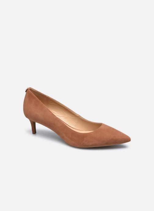 Zapatos de tacón Michael Michael Kors SARA  FLEX KITTEN PUMP Marrón vista de detalle / par