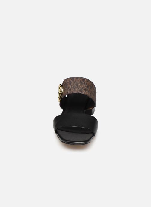 Mules et sabots Michael Michael Kors SUMMER MID Noir vue portées chaussures