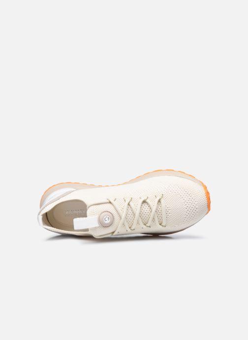 Sneaker Michael Michael Kors BODIE  TRAINER beige ansicht von links