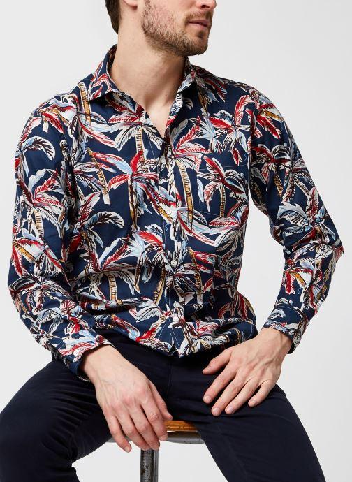 Vêtements Hartford Chemise Paul Bleu vue détail/paire