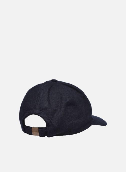 Cappellino Hartford Casquette Cap H Azzurro modello indossato