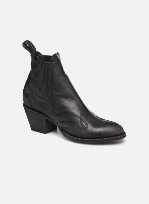 Bottines et boots Mexicana Gaucho 3 Noir vue détail/paire