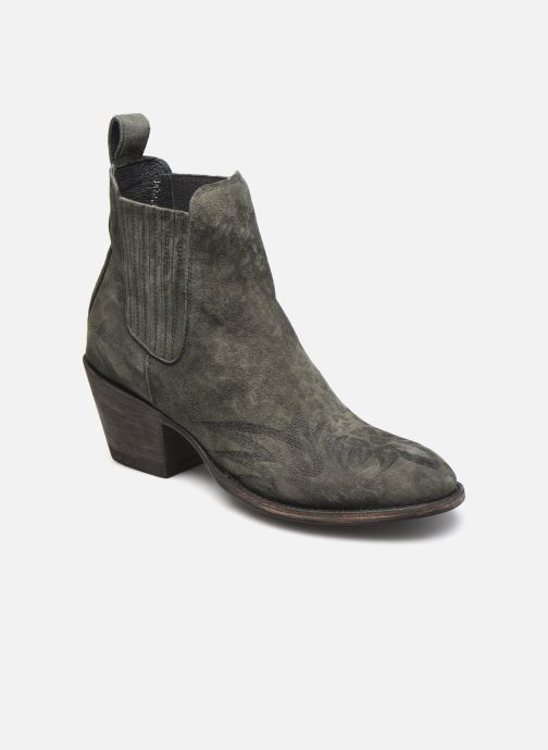 Bottines et boots Mexicana Gaucho 3 Vert vue détail/paire