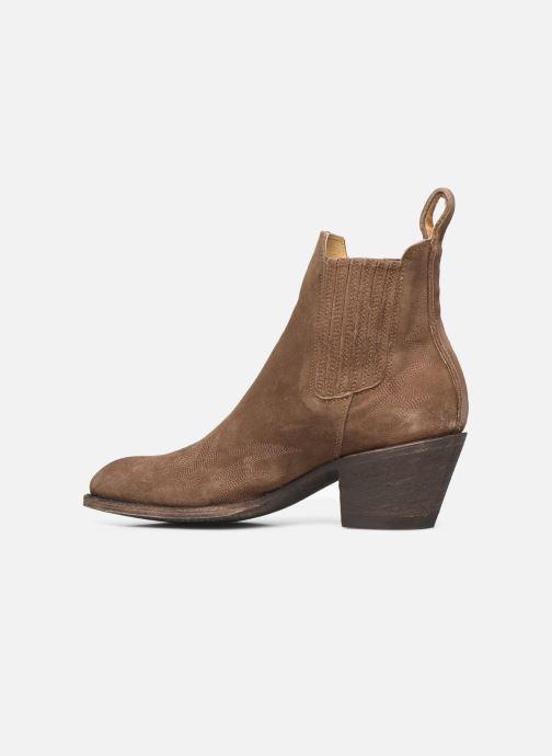 Bottines et boots Mexicana Gaucho 3 Marron vue face