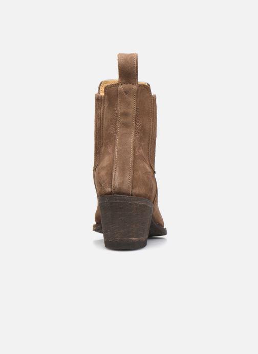 Bottines et boots Mexicana Gaucho 3 Marron vue droite