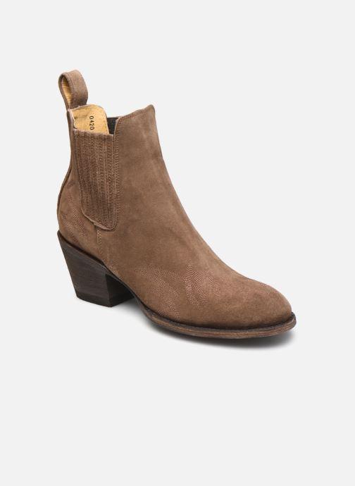 Bottines et boots Mexicana Gaucho 3 Marron vue détail/paire