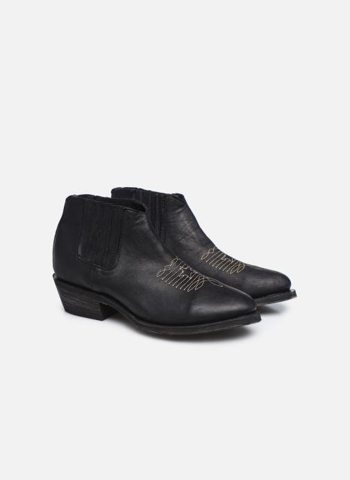 Boots en enkellaarsjes Mexicana Studio Black Zwart 3/4'