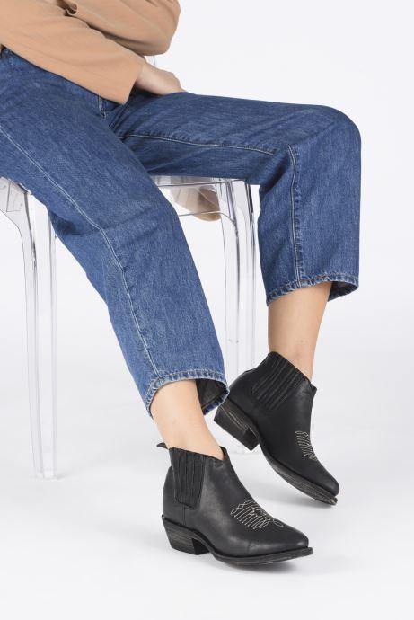 Boots en enkellaarsjes Mexicana Studio Black Zwart onder