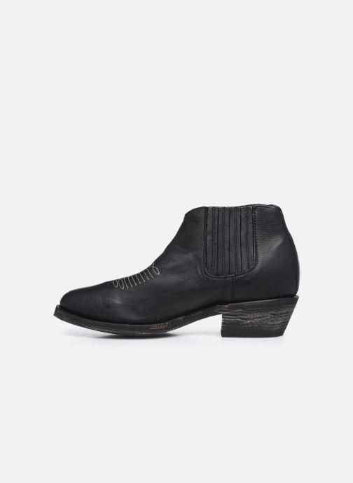 Boots en enkellaarsjes Mexicana Studio Black Zwart voorkant