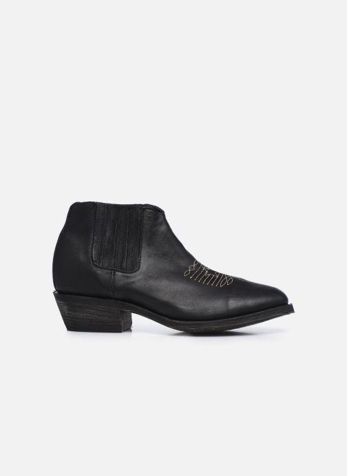 Boots en enkellaarsjes Mexicana Studio Black Zwart achterkant
