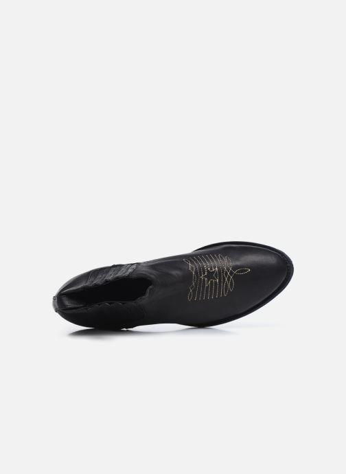 Boots en enkellaarsjes Mexicana Studio Black Zwart links