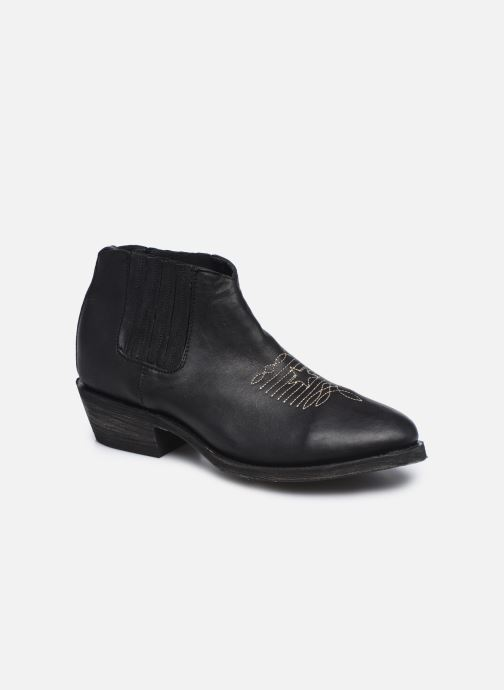 Boots en enkellaarsjes Mexicana Studio Black Zwart detail