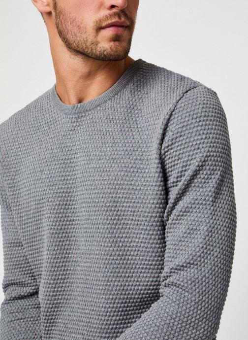 Vêtements Knowledge Cotton Apparel Pull Field Gris vue face