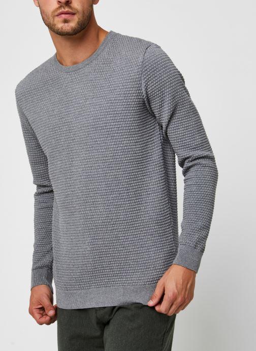 Vêtements Knowledge Cotton Apparel Pull Field Gris vue droite