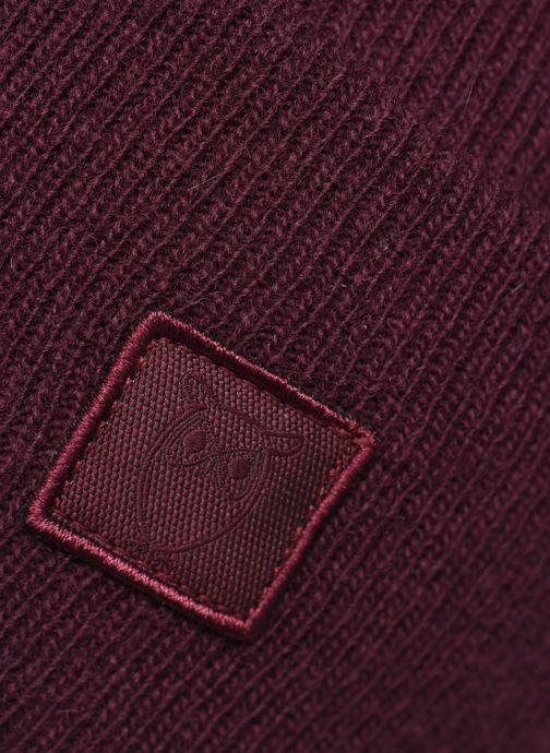 Bonnets Knowledge Cotton Apparel Bonnet Leaf Organic Bordeaux vue face