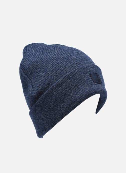Gorro Knowledge Cotton Apparel Bonnet Leaf Organic Azul vista de detalle / par