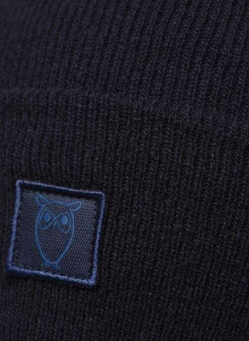 Bonnets Knowledge Cotton Apparel Bonnet Leaf Organic Noir vue face