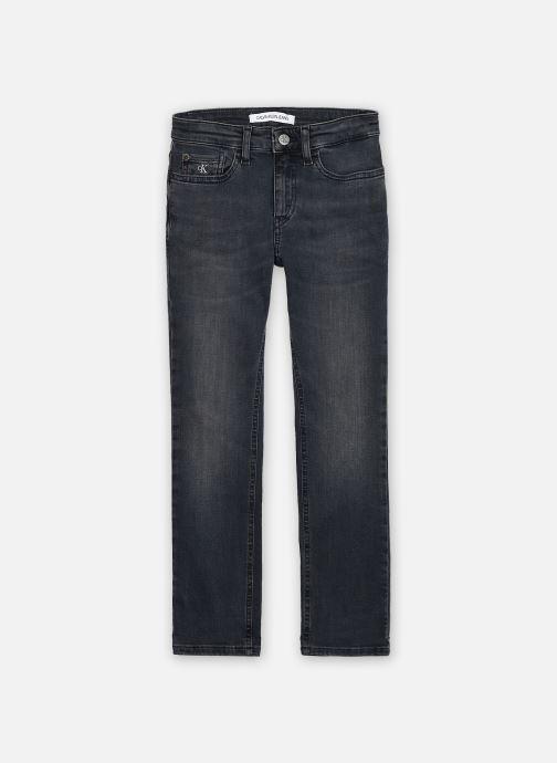 Vêtements Calvin Klein Slim Blue Black Stretch Bleu vue détail/paire