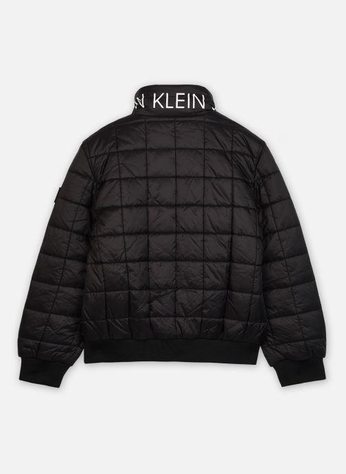 Kleding Calvin Klein Square Quilt Light Jacket Zwart model