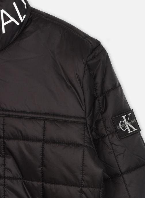 Kleding Calvin Klein Square Quilt Light Jacket Zwart voorkant