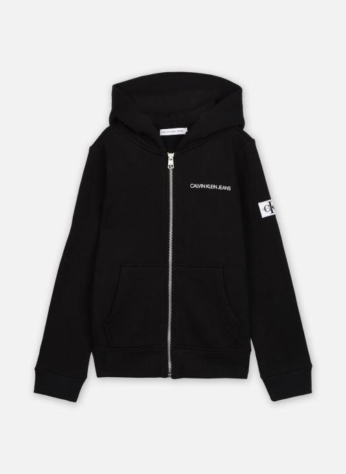 Sweatshirt hoodie - Monogram Sleeve Zip Hoodie