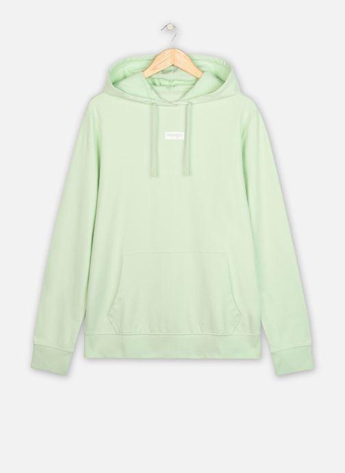 Vêtements Wrangler Logo Hoodie 3 Vert vue détail/paire