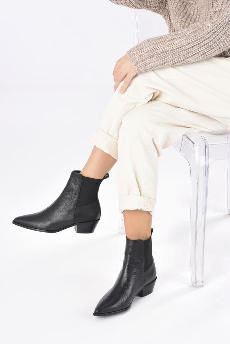 Stiefeletten & Boots Flattered Willow schwarz ansicht von unten / tasche getragen