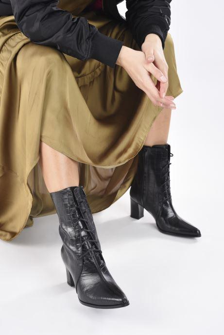 Stiefeletten & Boots Flattered Tine schwarz ansicht von unten / tasche getragen