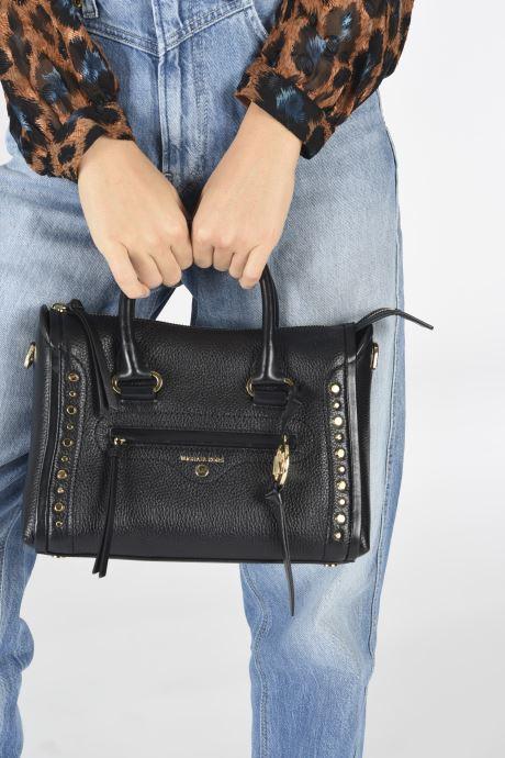 Bolsos de mano Michael Michael Kors CARINE Negro vista de abajo
