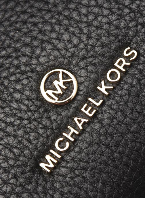 Sacs à main Michael Michael Kors LUCY MD HOBO SHLDR Noir vue gauche