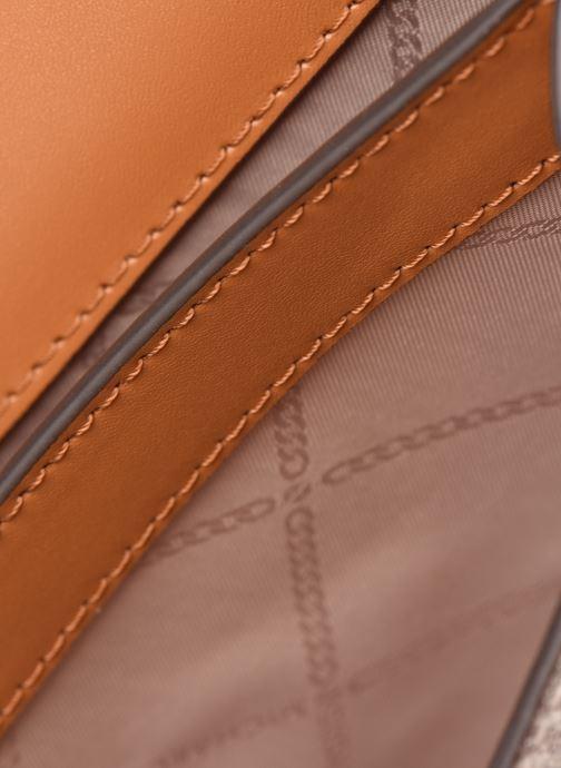 Handtaschen Michael Michael Kors JADE XS GUSSET  CROSSBODY beige ansicht von hinten