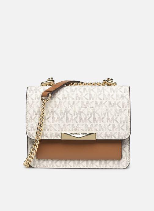 Handtaschen Michael Michael Kors JADE XS GUSSET  CROSSBODY beige detaillierte ansicht/modell