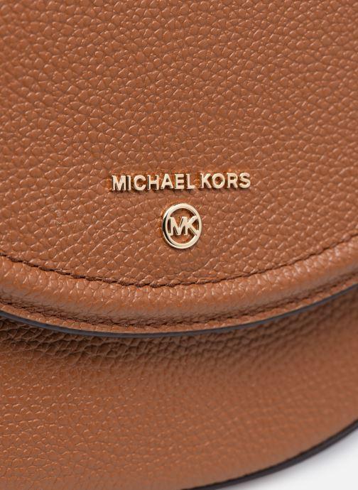 Sacs à main Michael Michael Kors JET SET CHARM DOME Marron vue gauche