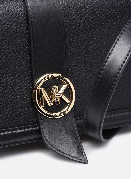 Bolsos de mano Michael Michael Kors MK CHARM CROSSBODY Negro vista lateral izquierda