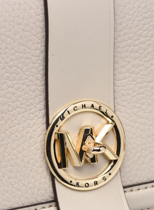 Bolsos de mano Michael Michael Kors MK CHARM CROSSBODY Beige vista lateral izquierda