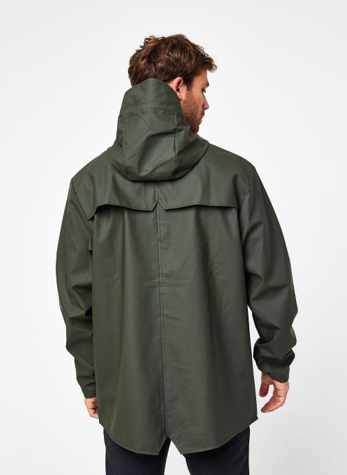 Vêtements Rains  Jacket Vert vue portées chaussures