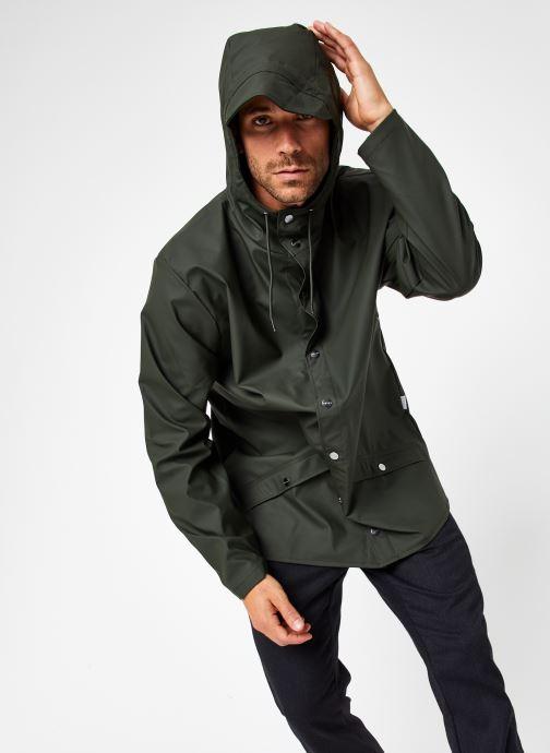 Vêtements Rains  Jacket Vert vue détail/paire