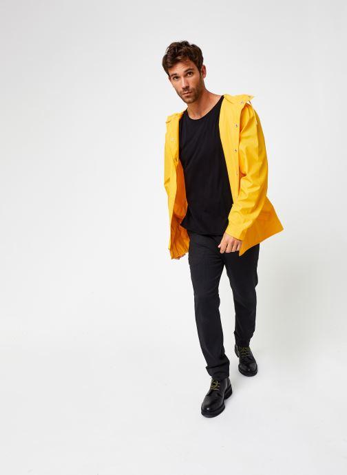 Vêtements Rains  Jacket Jaune vue bas / vue portée sac