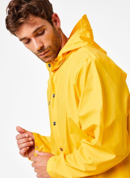 Vêtements Rains  Jacket Jaune vue face