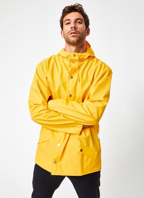 Vêtements Rains  Jacket Jaune vue droite