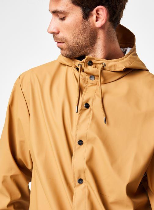 Vêtements Rains  Jacket Vert vue face