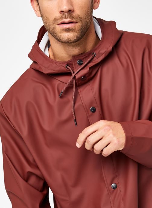 Vêtements Rains  Jacket Marron vue face