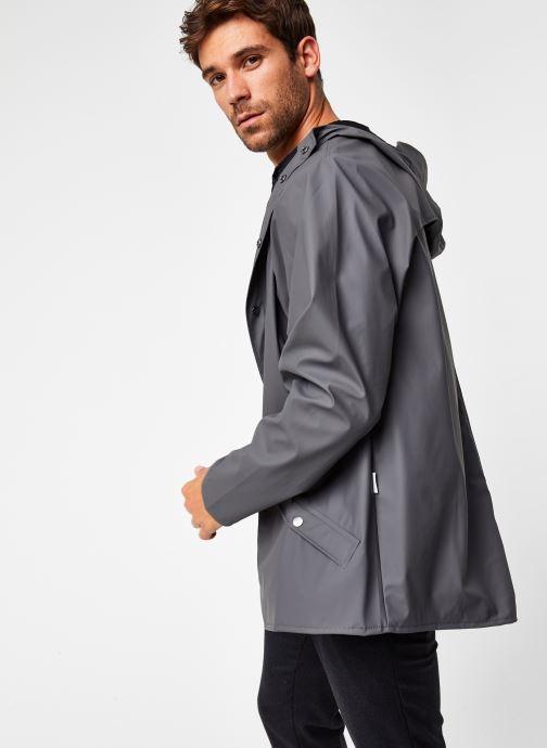 Vêtements Rains  Jacket Gris vue droite