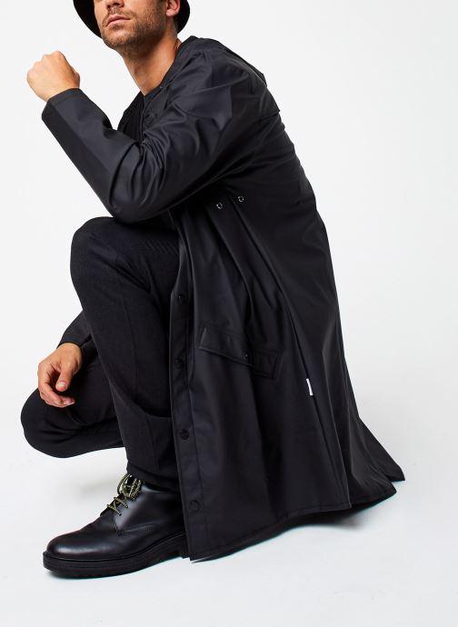 Vêtements Rains  Long Jacket Noir vue bas / vue portée sac