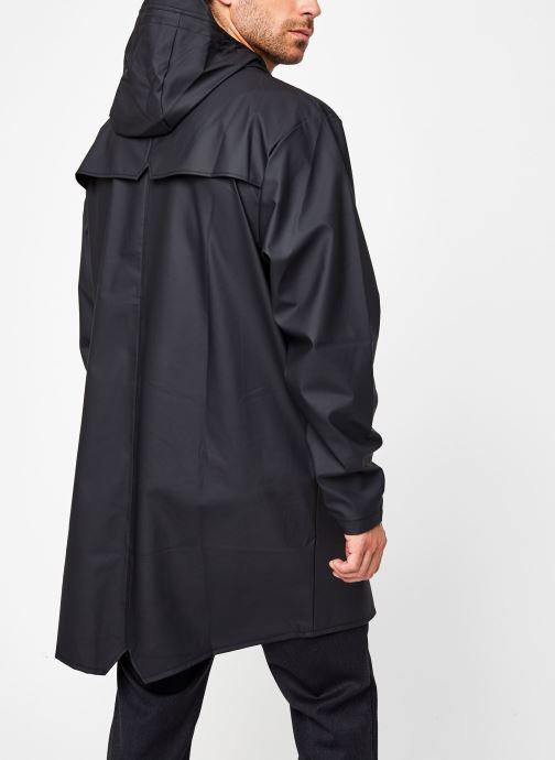 Vêtements Rains  Long Jacket Noir vue portées chaussures