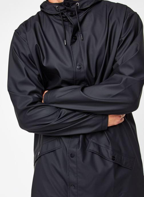 Vêtements Rains  Long Jacket Noir vue face