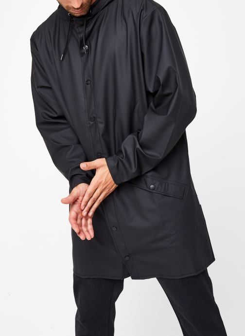 Vêtements Rains  Long Jacket Noir vue droite