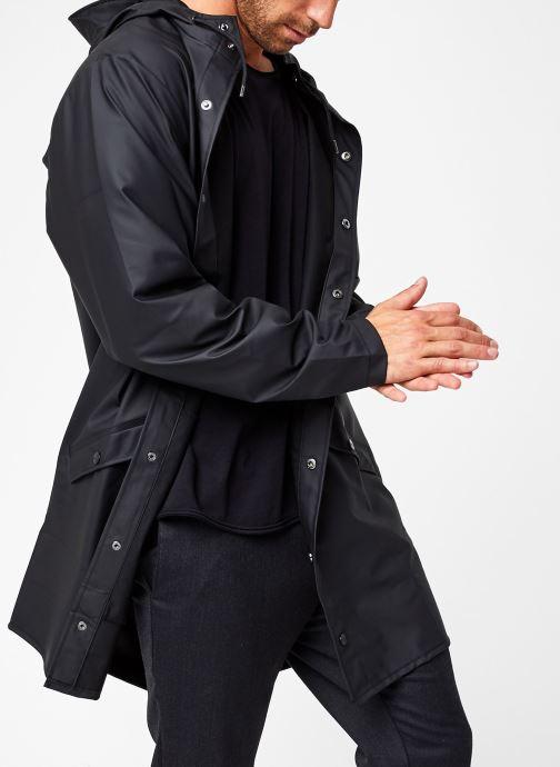 Vêtements Rains  Long Jacket Noir vue détail/paire