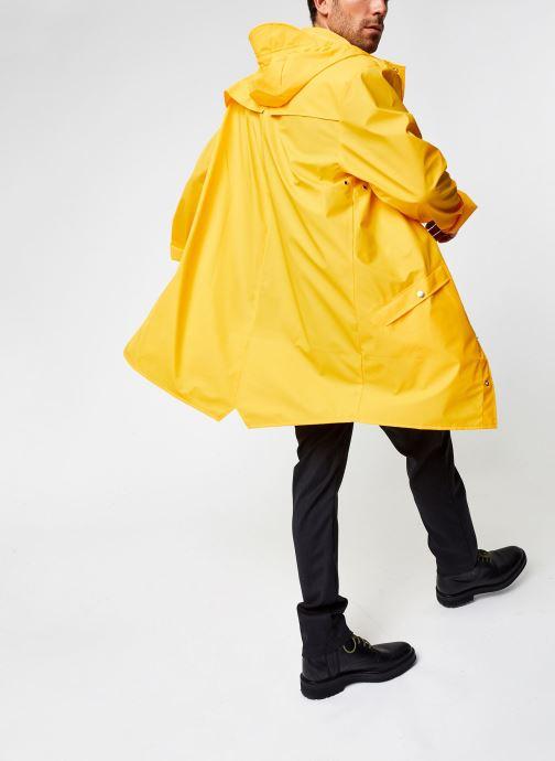 Vêtements Rains  Long Jacket Jaune vue bas / vue portée sac