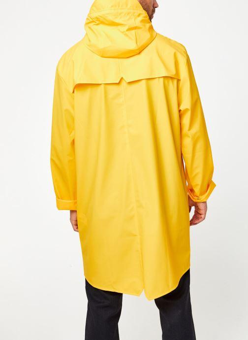Vêtements Rains  Long Jacket Jaune vue portées chaussures